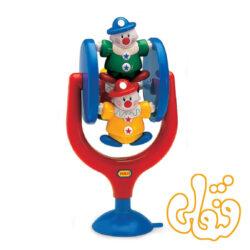 دلقک چرخشی صندلی غذای کودک Spinning Highchair Activity 89128