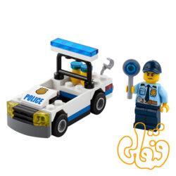 لگو ساختنی ماشین پلیس Police Car 30352