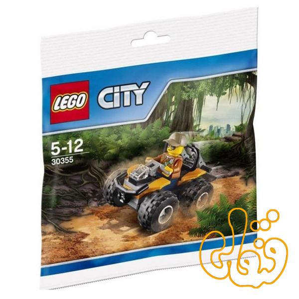 لگو ساختنی جنگل Jungle ATV 30355