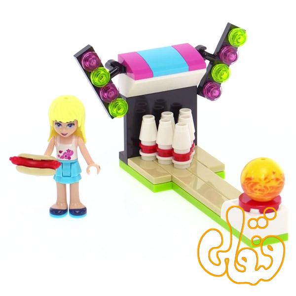 لگو ساختنی پارک تفریحی بولینگ Amusement Park Bowling 30399