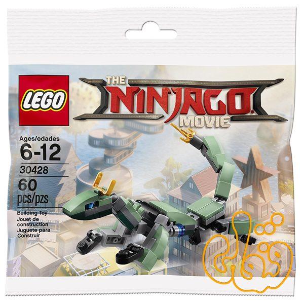 لگو ساختنی اژدها سبز Green Ninja Mech Dragon 30428
