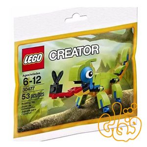 لگو ساختنی سوسمار کوچک رنگارنگ Colorful Chameleon 30477