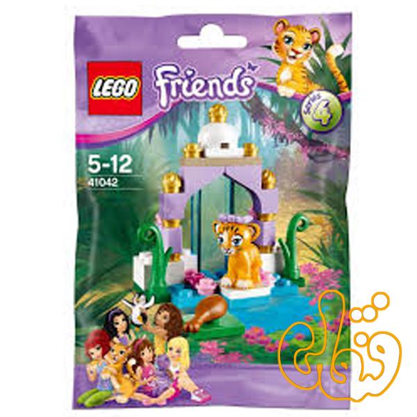 لگو ساختنی فضای زیبا برای ببر Tiger's Beautiful Temple 41042