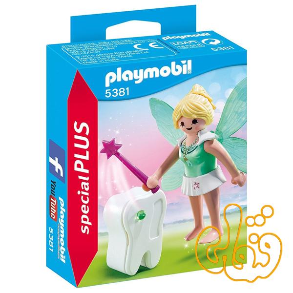 پری دندان با جعبه دندان پلی موبیل Tooth Fairy with Tooth Box 5381