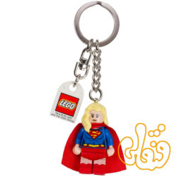 لگو ساختنی آویز کلید سوپرومن DC Comics™ Super Heroes Supergirl Keychain 853455