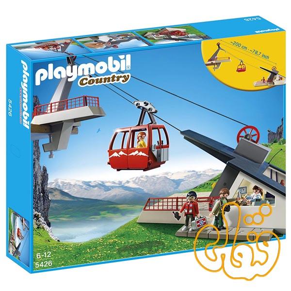 تله کابین آلپ پلی موبیل Alpine Cable Car Playset 5426