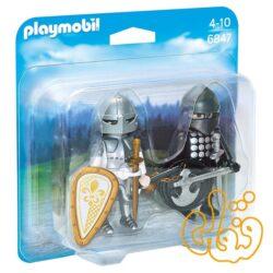 رقابت شوالیه ها پلی موبیل Knights' Rivalry Duo Pack 6847