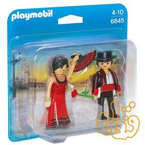 رقصنده فلامنکو پلی موبیل Flamenco Dancers Duo Pack 6845