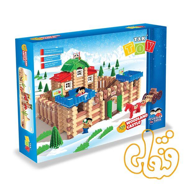 ساختنی قلعه جنگلی تک توی 325 قطعه