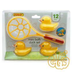 ست اردکهای کوچک حمام تولو Mini Bath Duck Set 89223