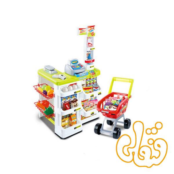 سوپرمارکت با چرخ خرید 668-03