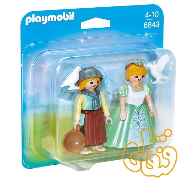 شاهزاده و خدمتکار پلی موبیل Collectable Princess and Handmaid Duo 6843