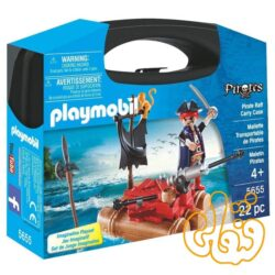 قایق دزدان دریایی با کیف حمل پلی موبیل Pirate Raft Carry Case 5655