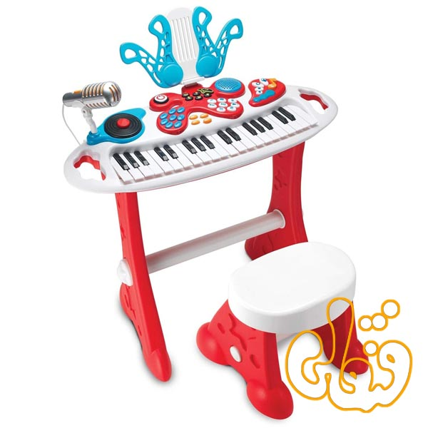 ارگ الکترونیکی پایه دار Electronic Keyboard Super Star Set 2072