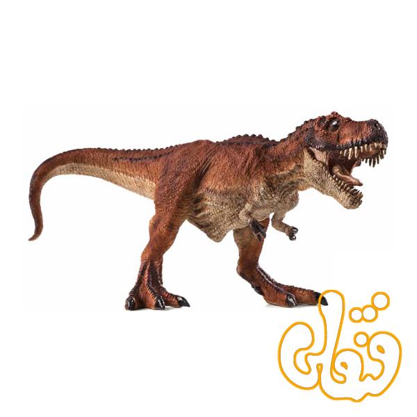 دایناسور رکس تیرانوسار شکارچی قرمز Tyrannosaurus Rex Hunting red 387273