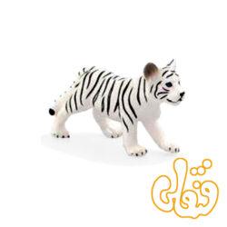 توله ببر سفید ایستاده White Tiger Cub Standing 387014