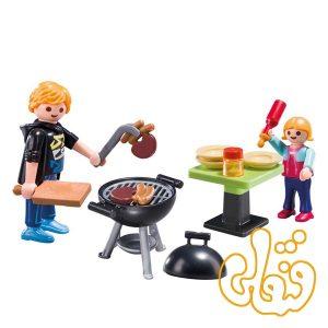 باربیکیو با کیف حمل پلی موبیل Backyard Barbecue Carry Case 5649