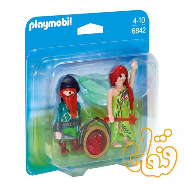 الف و کوتوله پلی موبیل Elf and Dwarf Duo Pack 6842