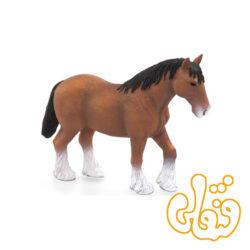 اسب اسکاتلندی قهوه ای Clydesdale Horse Brown 387070