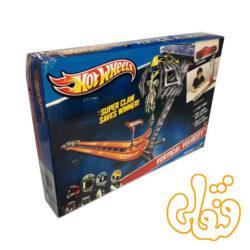 ماشین هات ویلز و جاده سرعت عمودی Super Claw Saves Winner 9283