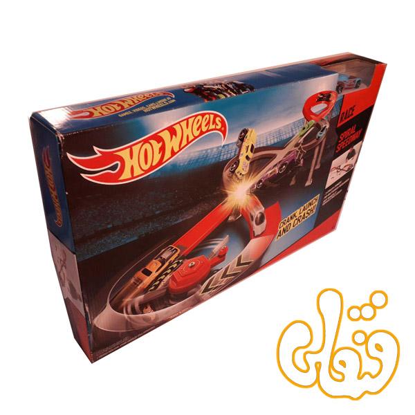 ماشین هات ویلز و جاده مارپیچ Spiral Speedway 074906
