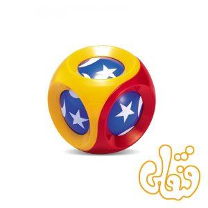 جغجغه توپی پیانویی ماه و ستاره تولو Spinning Chime Ball 89450