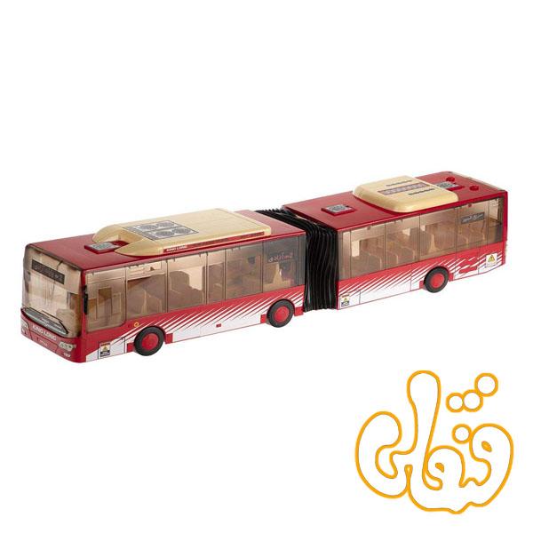 ماشین اتوبوس دو کابین بی آر تی