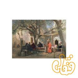 پازل رونزبرگر درویشها در قاهره Dervishes in Cairo 19031