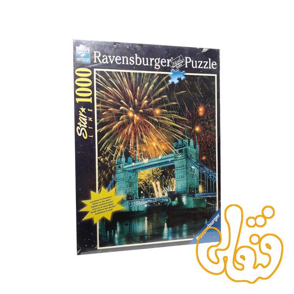 پازل رونزبرگر برج پل و آتش بازی Tower Bridge with Fireworks 16054