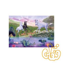 پازل رونزبرگر تفریح پریا و اسب تک شاخ Playful Fairies & Unicorns 08977