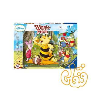 پازل رونزبرگر جشن عسل پو winnie's honey celebration 09319