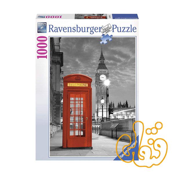 پازل رونزبرگر برج ساعت لندن Big Ben London 19475