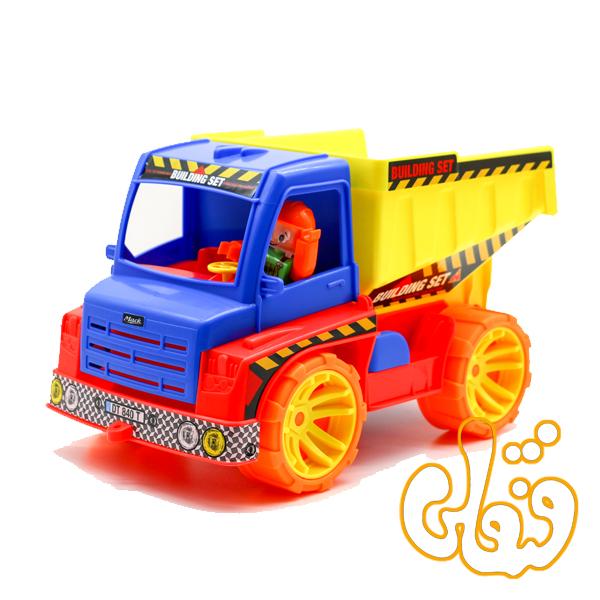 ماشین کامیون کمپرسی قدرتی درج