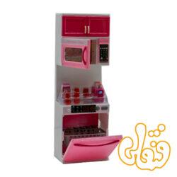 آشپزخانه کابینت ماکروفر و ماشین ظرفشویی 6920-3