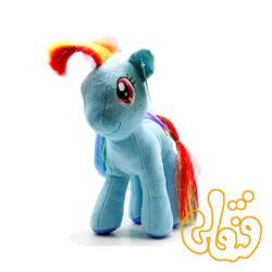 عروسک پونی آبی رینبودش Rainbow Dash 100109