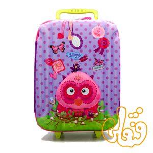 کیف چمدان چرخدار جغد 80161