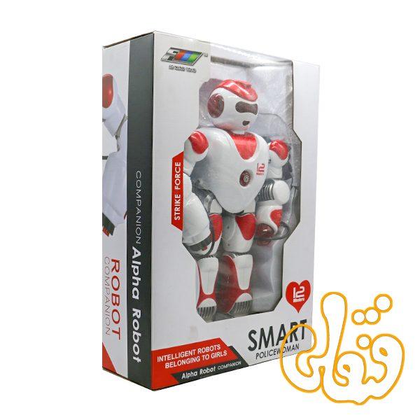 آدم آهنی الفا ربات کنترلی Smart PoliceWoman K2