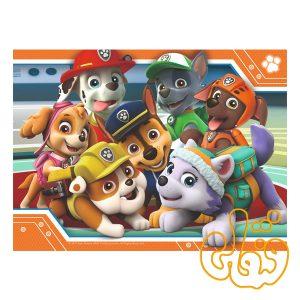 پازل چوبی شخصیتهای کارتونی سگهای نگهبان