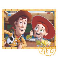 پازل چوبی شخصیتهای کارتونی اسباب بازیها