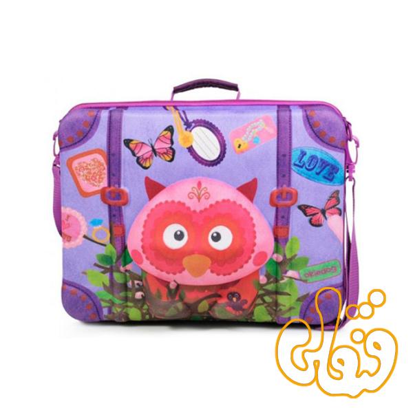 کیف چمدان بدون چرخ جغد 80073