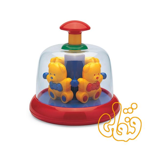 گردونه چرخ و فلک فشاری خرس Baby Carousel 89130