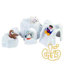 ست کوه یخ قطبی Polar Iceberg Set 87424