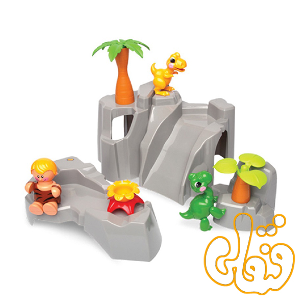 ست کوه عصر حجر Dinosaur play set 87359