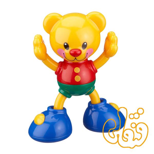 خرس مفصلی گیره دار Clip on friends Teddy Bear 86421