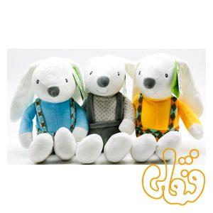 عروسک خرگوش لباسدار پسر 100131A