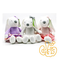 عروسک خرگوش لباسدار دختر 100131B