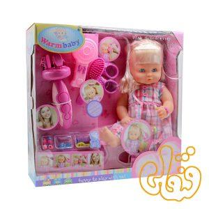 عروسک با دستگاه بافت مو05051