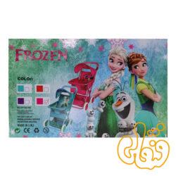 کالسکه عروسک فلزی طرح فروزن 0044