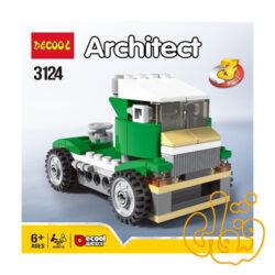 ساختنی لگو 3 مدل ماشین ، کامیون و ایرکرافت 3124