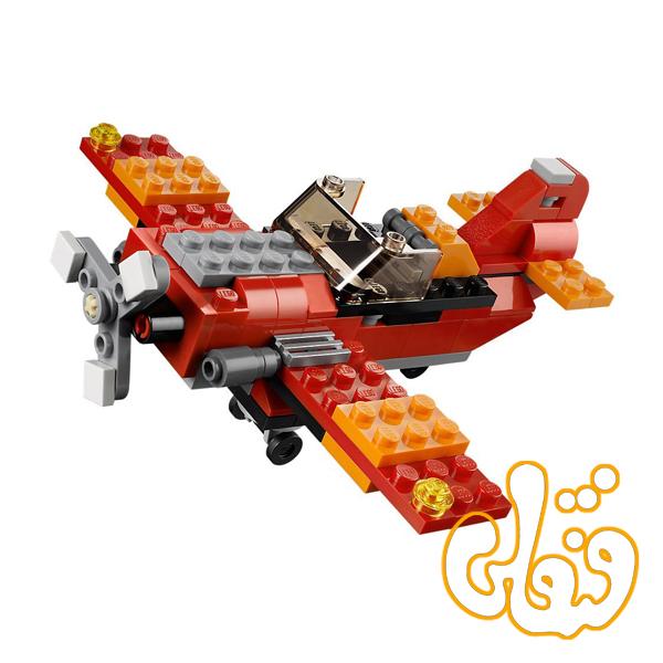 ساختنی لگو 3 مدل هلی کوپتر ، هواپیما و ایرکرافت 3107